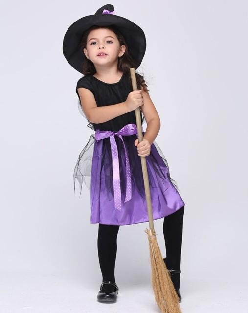 ハロウィン衣装 子供 魔女 悪魔 巫女 ワンピース ...