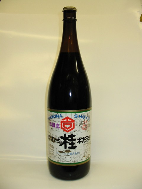 キッコーナ 本醸造たまりしょうゆ 桂 1.8L 瓶...