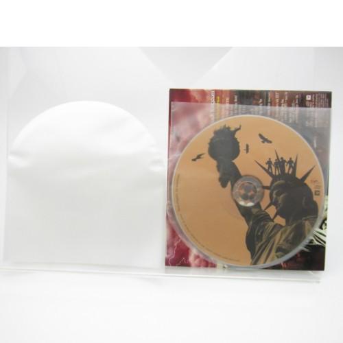 CD 紙ジャケ 丸形内袋 国内製造 静電防止素...