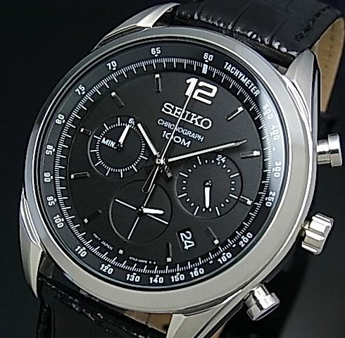 SEIKO/セイコー【クロノグラフ】メンズ腕時計 ブ...