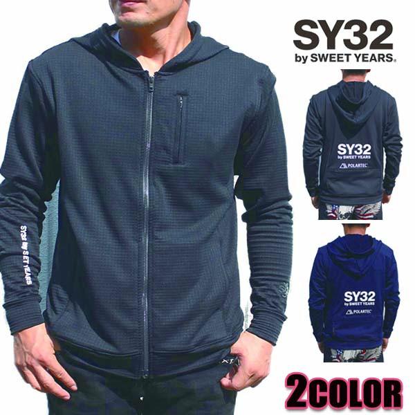 SY32 by SWEET YEARS パーカー メンズ ジップフー...
