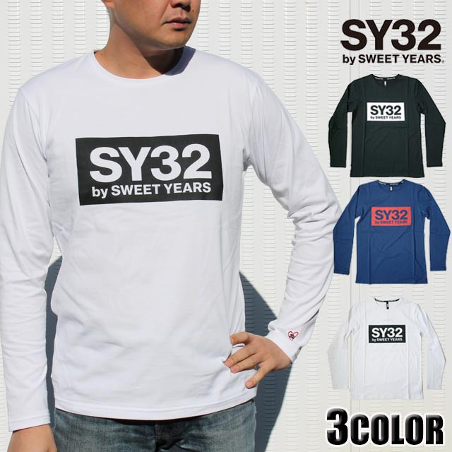 SY32 by SWEET YEARS ロンt メンズ ハートボック...