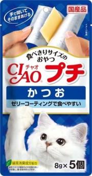 【いなばペット】チャオ プチ かつお 8gx5...