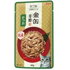 【アイシア】金缶 芳醇 かつお 60g