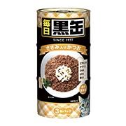 【アイシア】毎日 黒缶 ささみ入りかつお 16...