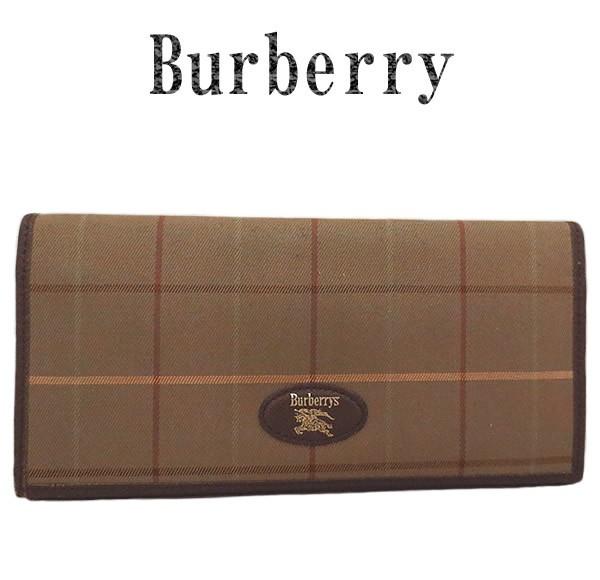 BURBERRY バーバリーズ ファスナー付き長財布
