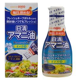 【日清オイリオグループ】日清アマニ油 145g フレ...