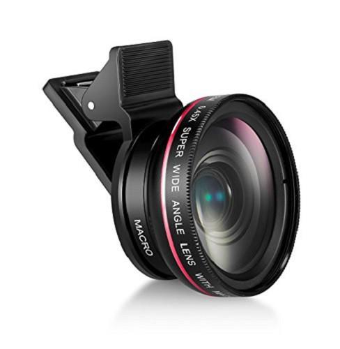Mactrem スマホ用カメラレンズ 0.45倍広角と12.5...