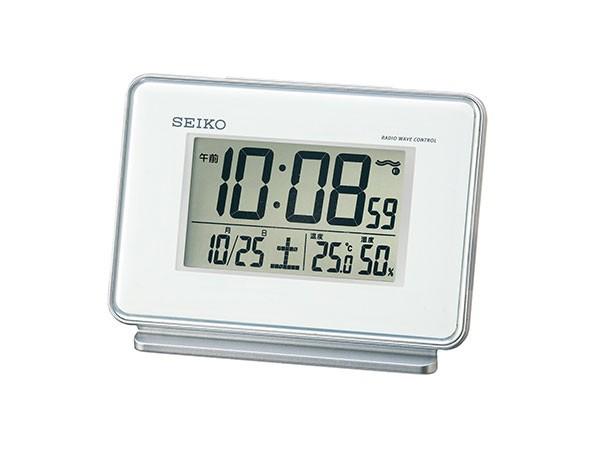 セイコー SEIKO 電波時計 置き時計 SQ767W