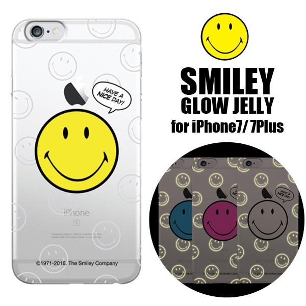 iPhone7,iPhone7Plus ケース カバー SMILEY スマ...