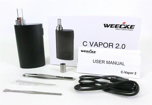 即納【電子タバコ/葉タバコ専用】WEECKE C-Vapor ...