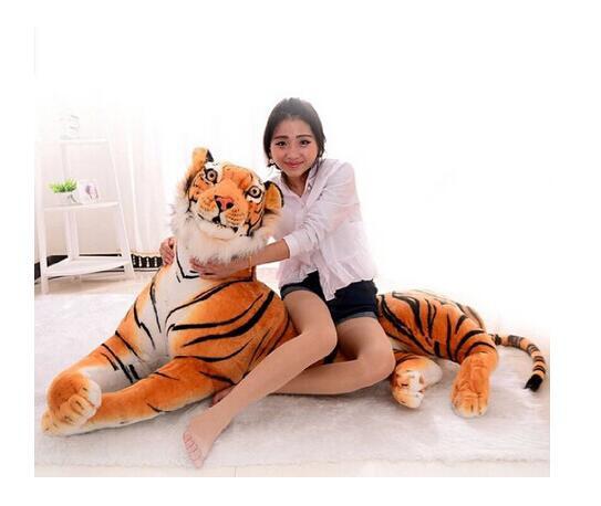 ぬいぐるみ 特大 虎/タイガー 大きい 動物 90cm ...
