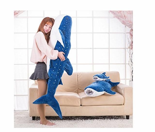 鯨 ぬいぐるみ・リアル抱き枕・特大・魚・クジラ...