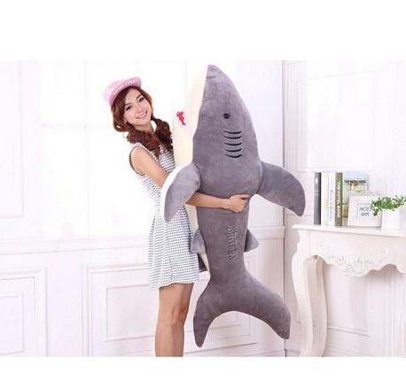 サメ ぬいぐるみ 特大 90cm サメ抱き枕/鮫ぬ...