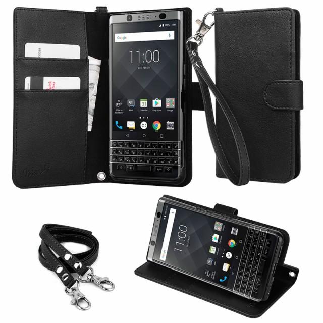 【ストラップ2種付】wisers BlackBerry ブラック...