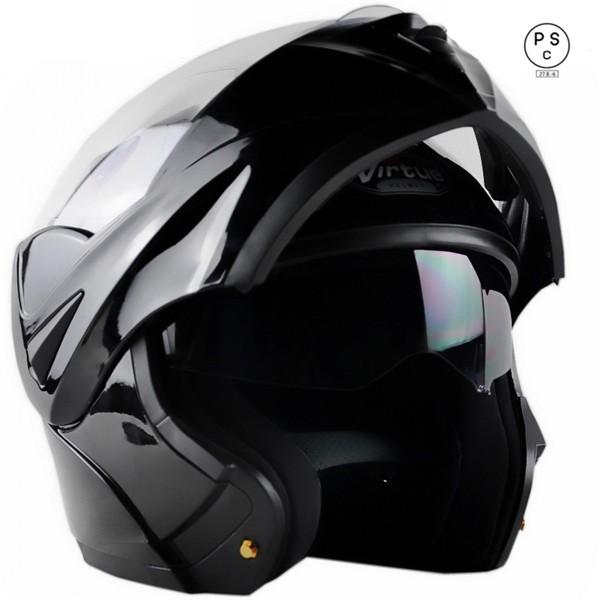 バイクヘルメット システムヘルメット ダブルシー...
