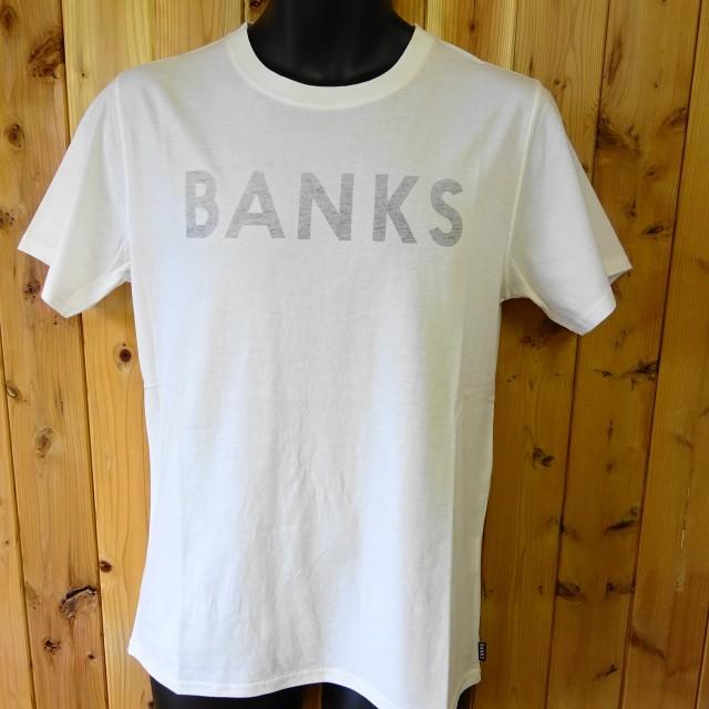 バンクス BANKS 半袖Tシャツ クラシックロゴ 裏...