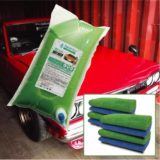 【詰め替え7.0Lパック】水なし洗車+高光沢WAX 『...