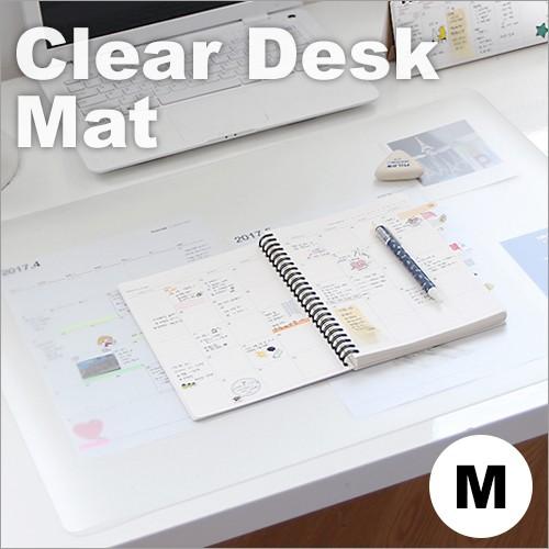 デスクマット クリア オフィス 半透明 デスク 筆...