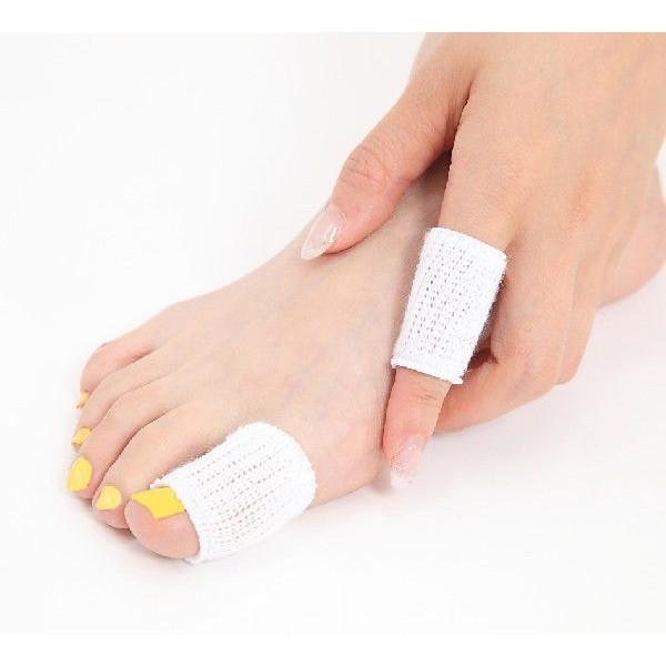 送料無料!指の傷等治療時の保護に!脂足・水虫で...