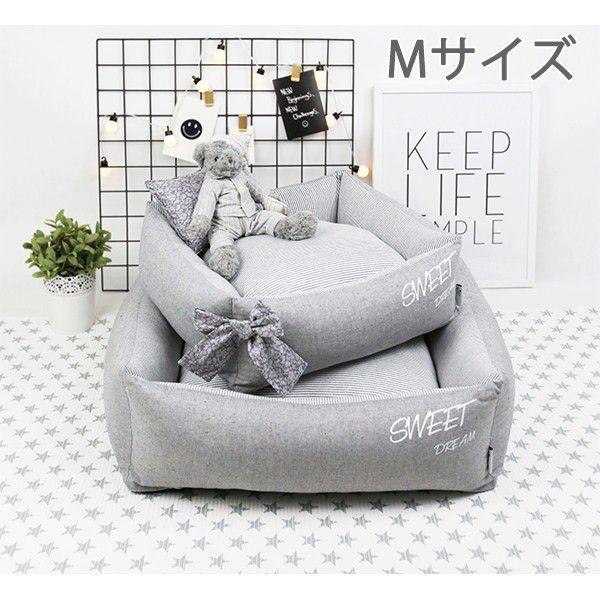 ペット用 ベッド ドッグベッド キャット ベッド M...