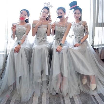 4タイプ入荷 ブライズメイド ドレス パーティー...