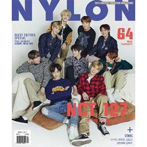 韓国女性雑誌 NYLON(ナイロン)2017年 4月号 (NC...