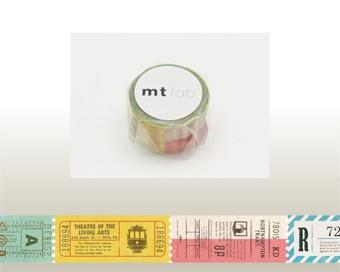 mt fab 穴空きテープ・チケット MTDP1P02/20mm...