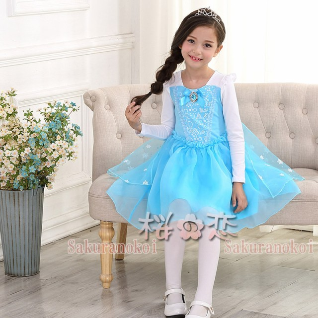 e9aa33f132631 激安!アナと雪の女王風 Elsa エルサ風衣装 cosplay コスプレ ドレス ...