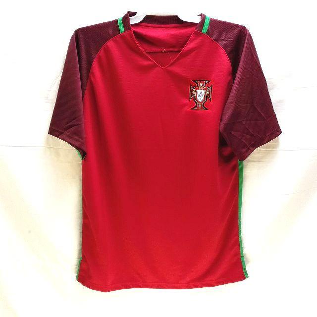 大人用 A013 17 ポルトガル 赤 ゲームシャツ パン...