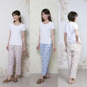 ★「欲しかったパジャマの下・花柄 3色セット×2...