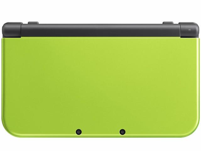 【新品】Newニンテンドー3DS LL ライム×ブラック...