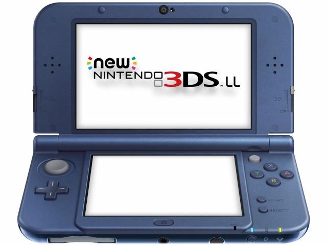 【新品】Newニンテンドー3DS LL メタリックブルー...