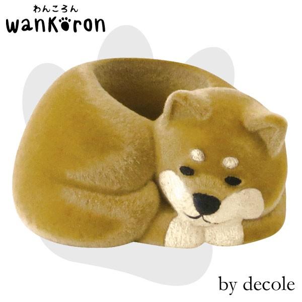 WA-74115「番犬はんこスタンド/茶」デコレ wanko...