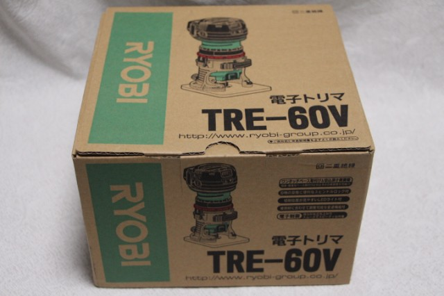 リョービ[RYOBI]電子トリマ TRE-60V