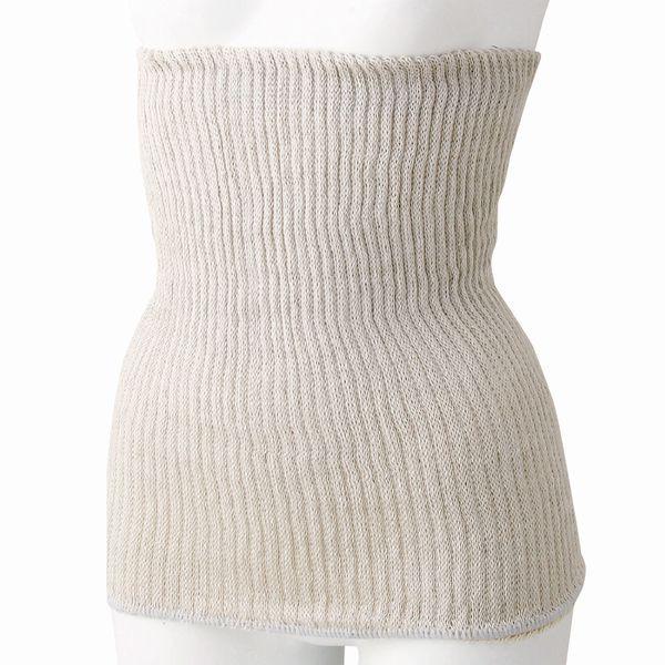 シルクと綿の二重編み腹巻