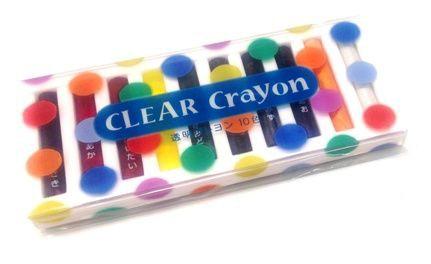 コクヨ 透明クレヨン 10色