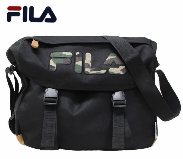 【FILA】ショルダーバッグ◆フィラ 迷彩ビッグロ...