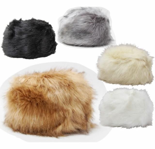 フェイクファーロシア帽(ロシア帽子)