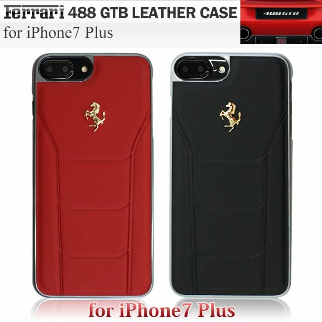 フェラーリ・公式ライセンス品 iPhone7 Plus 本革...