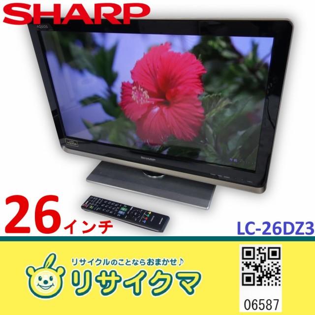 M▽シャープ 液晶テレビ 2010年 26インチ LED 外...