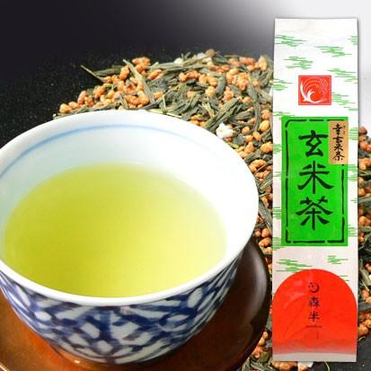 幸玄米茶(ゆきげんまいちゃ) 200g袋入り [香...