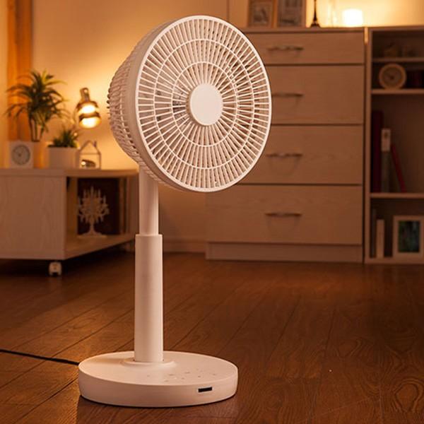 送料無料★DCサーキュレーターファン EFT-1605WH■ 扇風機 DCファン タワーファン サーキュレーター 冷房 ひんやり