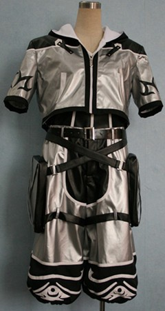 キングダムハーツ2 ソラ(銀) コスプレ衣装w488