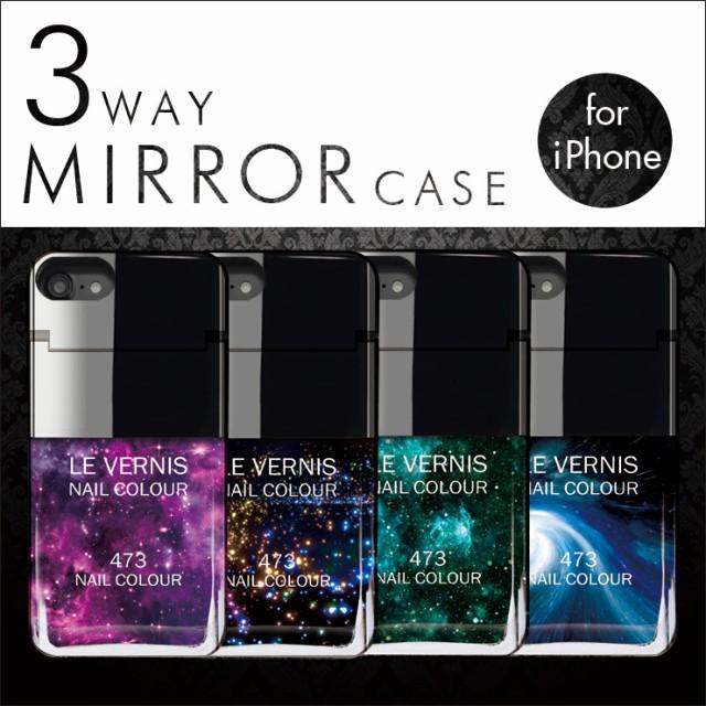 ◆送料無料◆iPhone7 6s 6 ミラー 付き カード収...