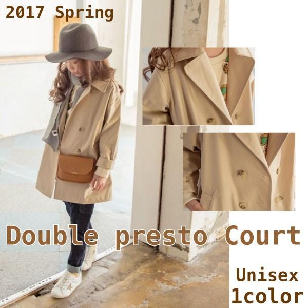 432439871d576 ユニセックス ダブルプレスト コート 上着 キッズ ジャケット 子供服 アウター トレンチ 男の子 女の子 100