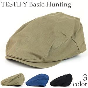 TESTIFY Basic Hunting  ハンチングキャップ