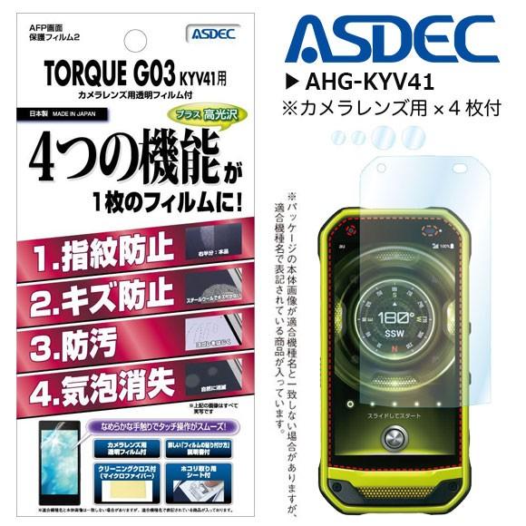 TORQUE G03 KYV41 液晶フィルム AHG-KYV41【1590...