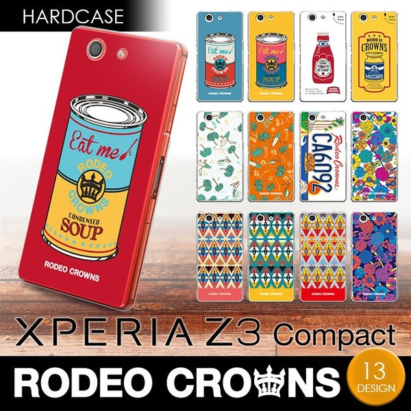 Xperia Z3 compact (SO-02G/D5833) 【RODEOCROWNS...