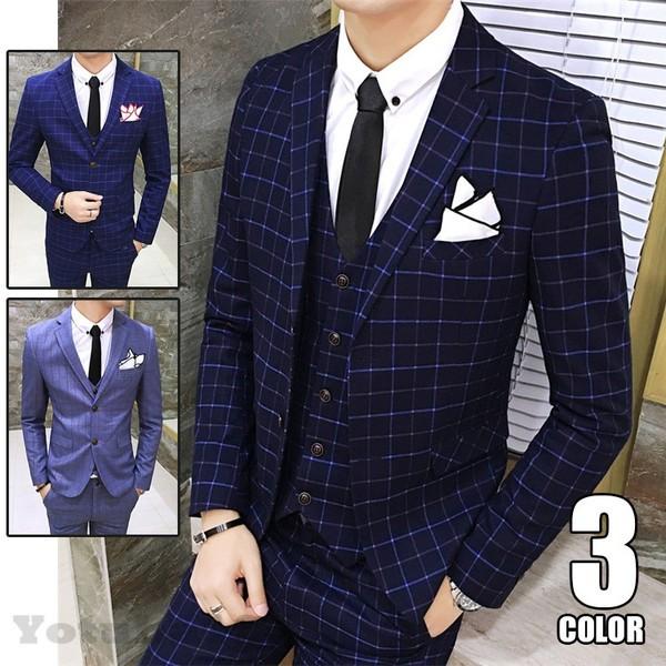 2017新作メンズ スーツ シングスーツ フォーマル ...